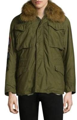 AS65 Original Military Jacket With Fur Collar
