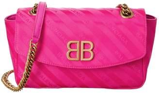 Balenciaga BB Round cloth crossbody bag