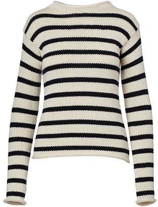 Ralph Lauren Striped Rollneck Sweater $990 thestylecure.com