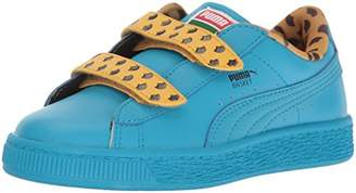 Puma Unisex-Kids Sesame Str Basket Cookie Monster Mono V