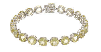 Effy Fine Jewelry 14K 22.05 Ct. Tw. Lemon Quartz Bracelet