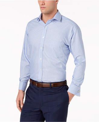 Tasso Elba Men's Classic/Regular Fit Non-Iron Printed Dress Shirt