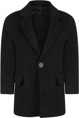 Mouty Paris Black Boy Coat With Iconic Details