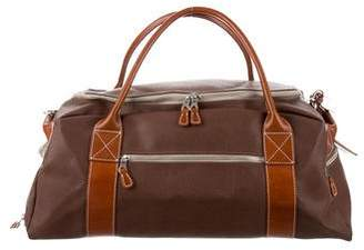 Mulholland Grain Leather Large Weekender