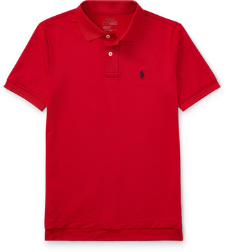 Ralph Lauren Stretch Lisle Polo Shirt