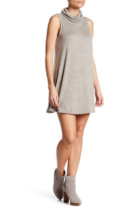 Bobeau Cowl Neck Sleeveless Fleece Dress (Petite) $62 thestylecure.com
