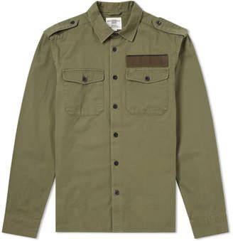 Kent & Curwen Tescher Military Shirt Jacket