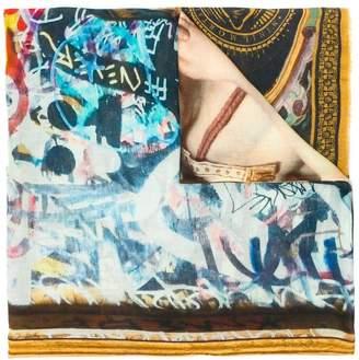 Faliero Sarti Brooklyn printed scarf