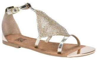 Muk Luks Women's Linzie Flat Ankle Strap Sandal