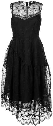 Simone Rocha lace asymmetric dress