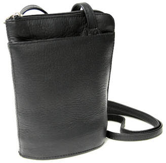 Royce Leather Royce Lightweight Crossbody Bag in Colombian Genuine Leather