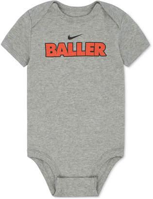 Nike Baller Cotton Bodysuit, Baby Boys