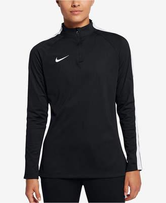 Nike Academy Dri-fit Quarter-Zip Soccer Drill Top