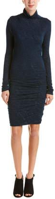 Velvet by Graham & Spencer Ruched Midi Dress