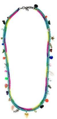 Venessa Arizaga Charm Chain Necklace