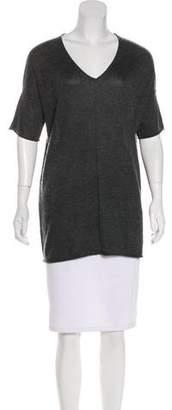 Minnie Rose Silk & Cashmere-Blend Top
