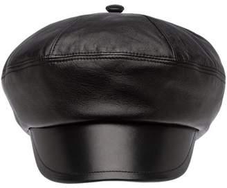 Prada Nappa Leather Hat