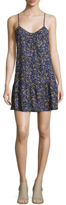 Current/Elliott The Strappy Cotton Cami Dress, Floral Field (Blue) $238 thestylecure.com