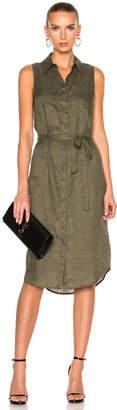Equipment Tegan Dress in Four Leaf Clover | FWRD