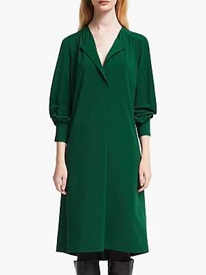John Lewis & Partners Jersey Placket Dress
