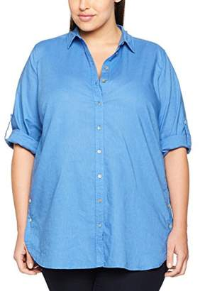 Via Appia Women's Bluse Hemdkragen 3/4 Arm Blouse
