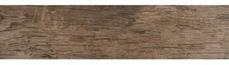 MSI Redwood Natural 6 x 24 Porcelain Wood Tile in Glazed Textured