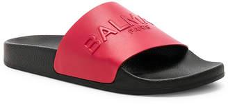 Balmain Leather Calypso Sandals