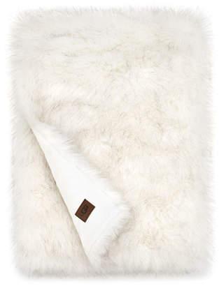 UGG Blizzard Faux-Fur Throw Blanket