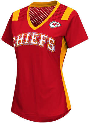 G-iii Sports Women's Kansas City Chiefs Wildcard Jersey T-Shirt