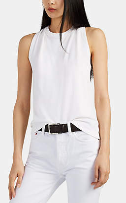 Helmut Lang Women's Twisted Cotton Tank - White