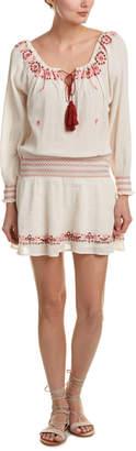 LoveShackFancy Smocked Drop Waist Dress