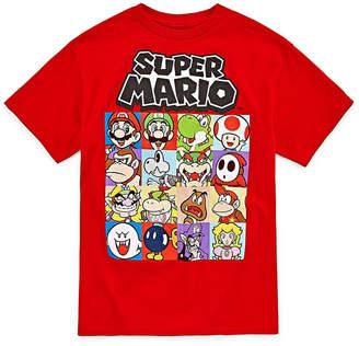 Fifth Sun Super Mario Super Mario Graphic T-Shirt-Big Kid Boys