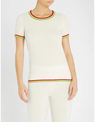 Madeleine Thompson Hoth cashmere T-shirt
