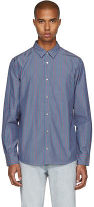 A.P.C. Blue Pinstripe Will Shirt