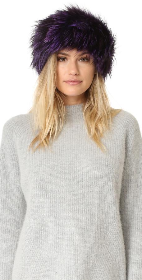 Adrienne LandauAdrienne Landau Fur Headband