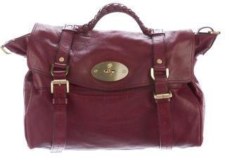 Mulberry Leather Alexa Satchel $525 thestylecure.com