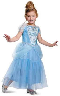 BuySeasons Disney Cinderella Deluxe Sparkle Toddler Girls Costume