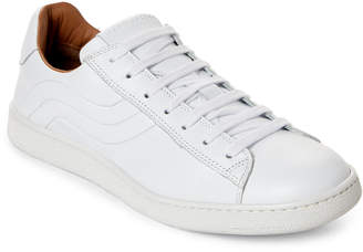 Marc Jacobs White Lace-Up Sneakers