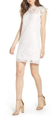 Cupcakes And Cashmere Floral Lace Shift Dress