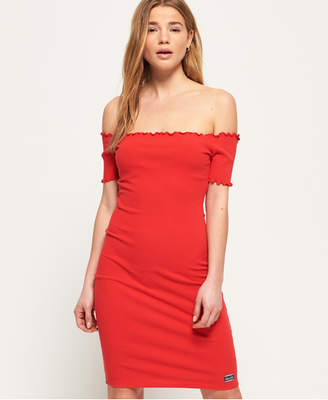 Superdry Harper Bardot Dress
