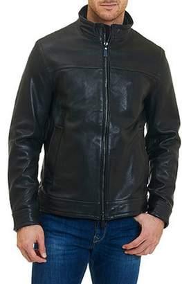 Robert Graham Men's Napoleon 2 Basic Leather Jacket