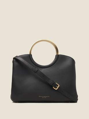 DKNY Sia Leather Large Satchel