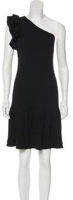 Rebecca Taylor One-Shoulder Knee-Length Dress