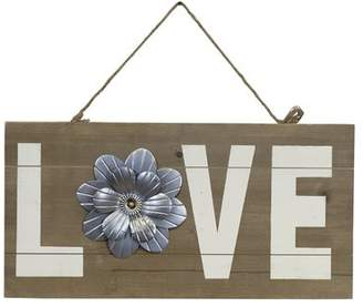 Gracie Oaks Vintage Wooden Love Sign Wall Decor