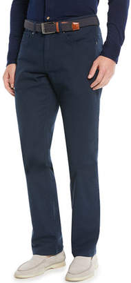 Peter Millar Men's Crown Vintage 5-Pocket Canvas Pants