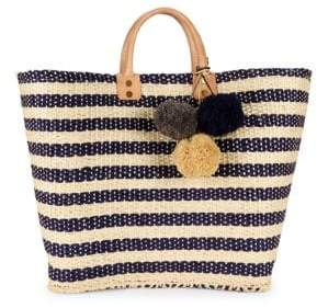 Mar y Sol Sahara Striped Tote Bag