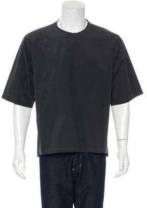 Dolce & Gabbana Crew Neck Woven T-Shirt