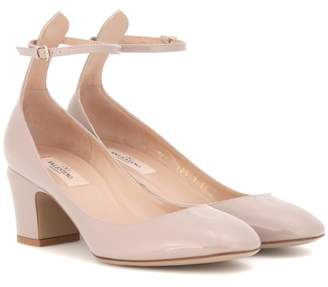 Valentino Tan-go patent leather pumps