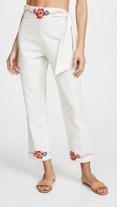 Carolina K. Straight Pants