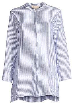 Max Mara Women's Tobia Linen Stripe Tunic